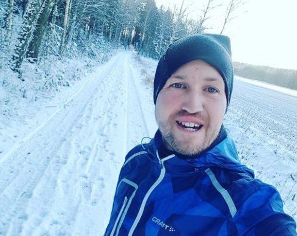 Fredrik fixade Runstreak 30/30!