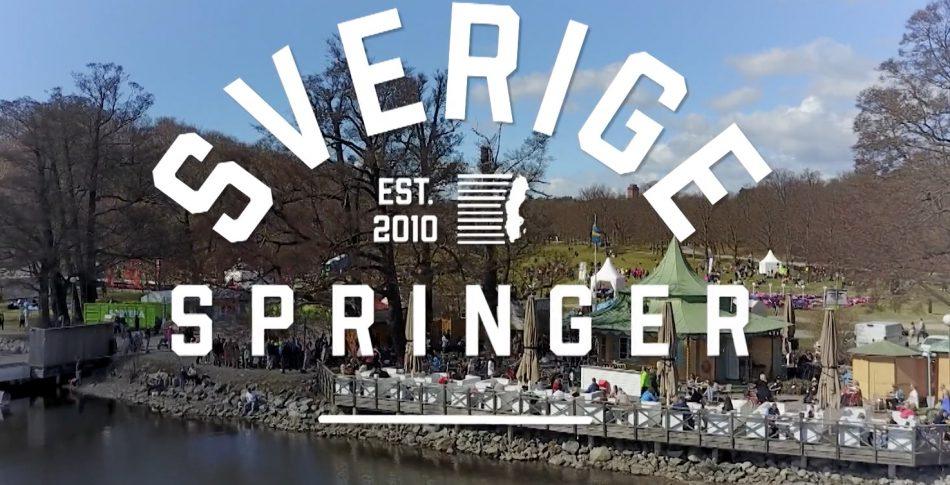 Häng med på långpass och Vårruset i Sverige Springer