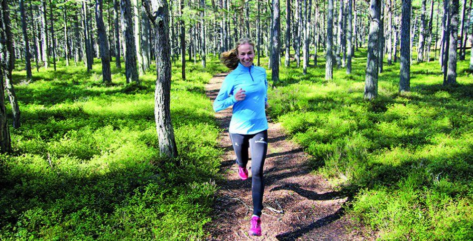 Utvecklas som löpare i skogen med intervaller!