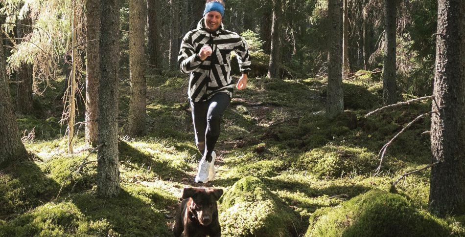 Martin inspirerar till löpande äventyr