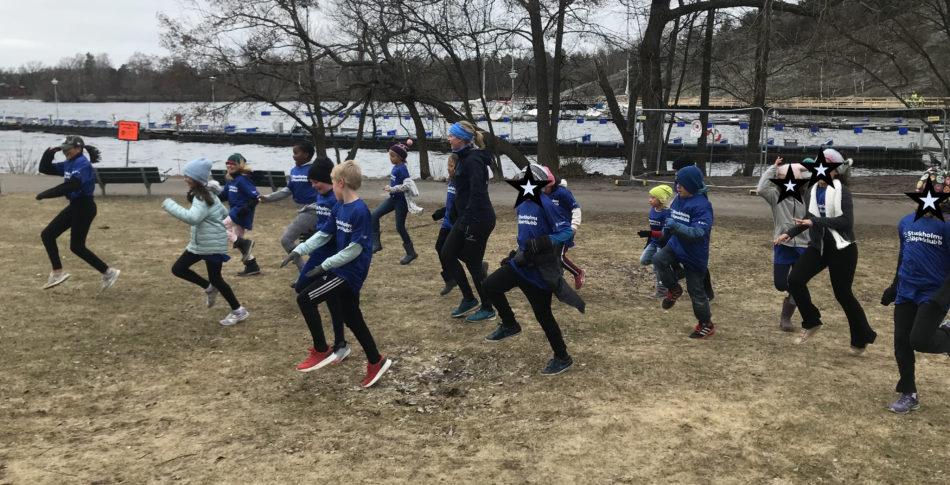 Sveriges största löparklubb – bara för barn