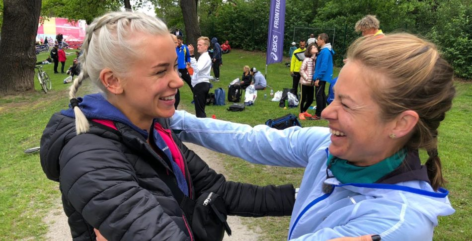 Hur gick det för Elmina och Mica under ASICS Stockholm Marathon?