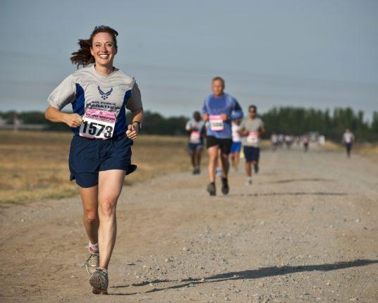 Glädje händer i hjärnan vid löpning