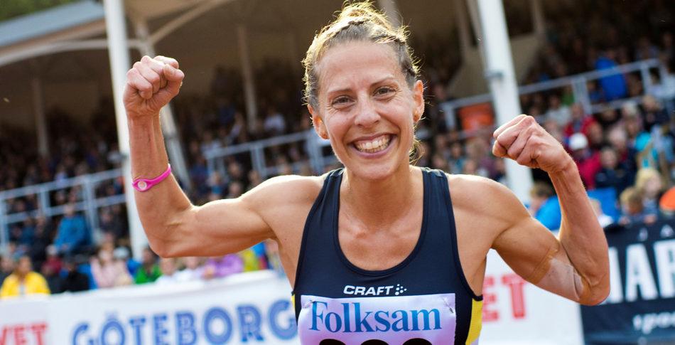 Charlotta Fougberg satsar på guldet