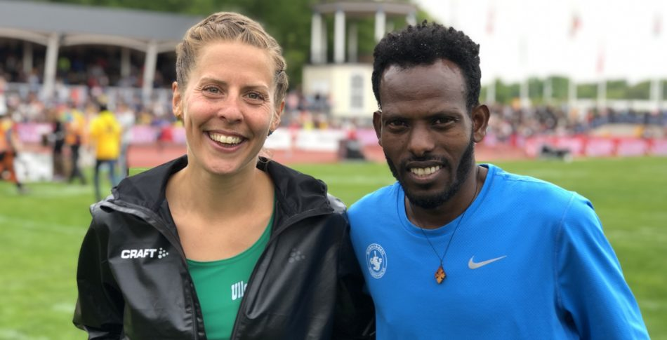 Charlotta och Robel suveräna SM vinnare i Göteborgsvarvet