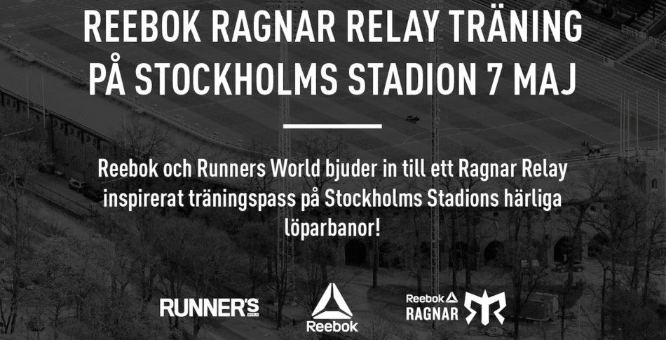 Ragnar Relay pass på inspirerande Stadion