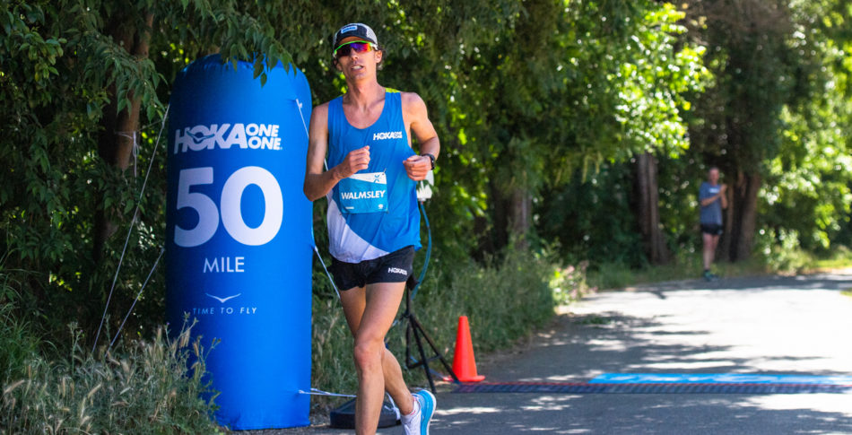 50 miles rekord- men sen tappade Jim farten