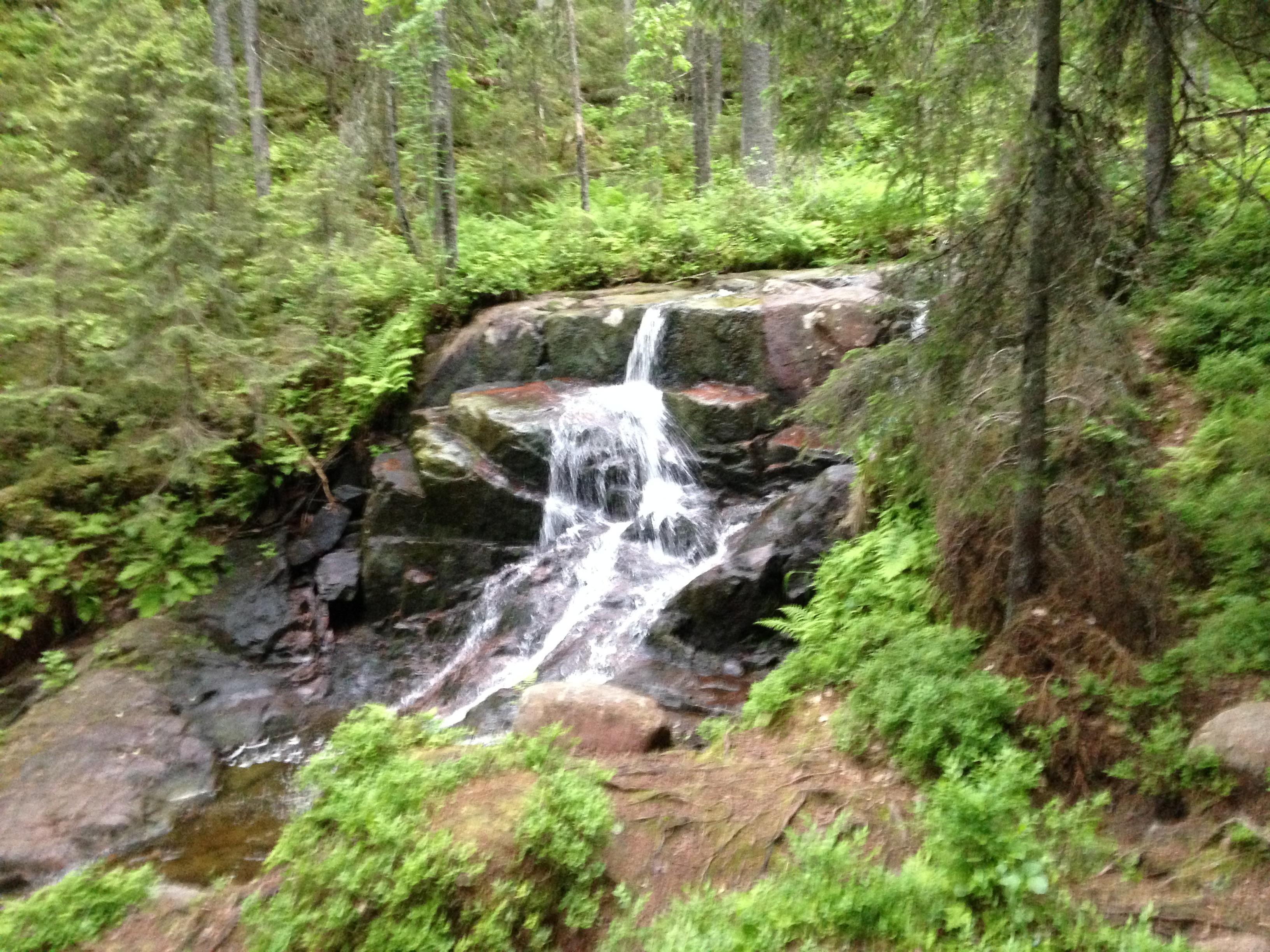 Skuleskogen vattenfall