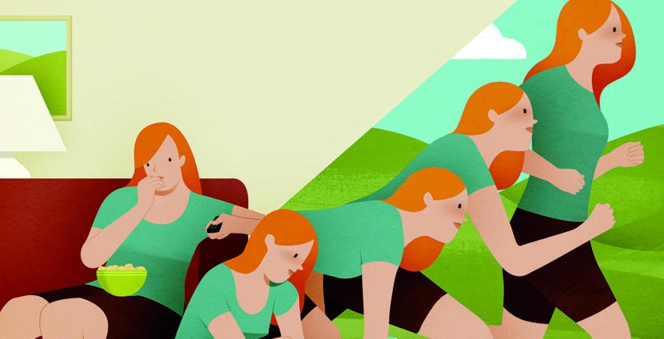 Från soffpotatis till löpare – i tre enkla steg