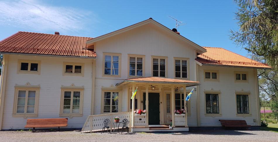 Sagobröllop och träning på Snöå Bruk