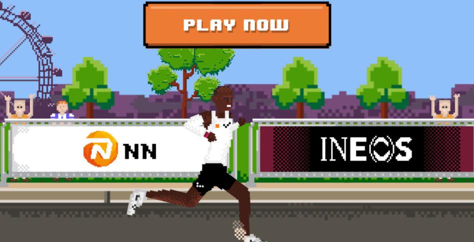 Hjälp Eliud Kipchoge springa maratondistansen under 2 timmar med @ INEOS159 Challenge Game