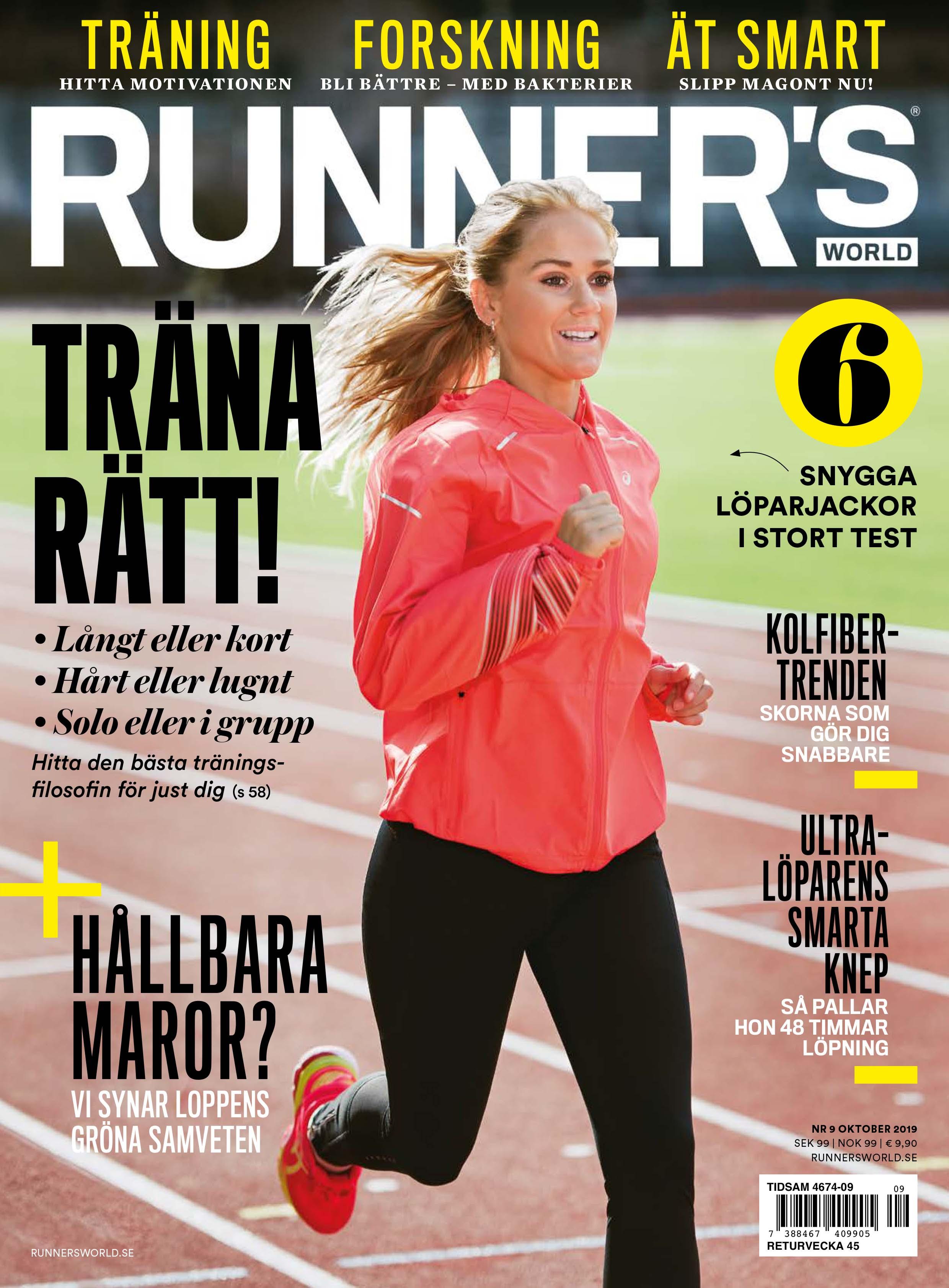 Runner's World nummer 6, 2010 StockholmMarathon Stockholm Marathon