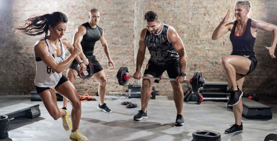 8 minuter cirkelträning ger kondition och styrka