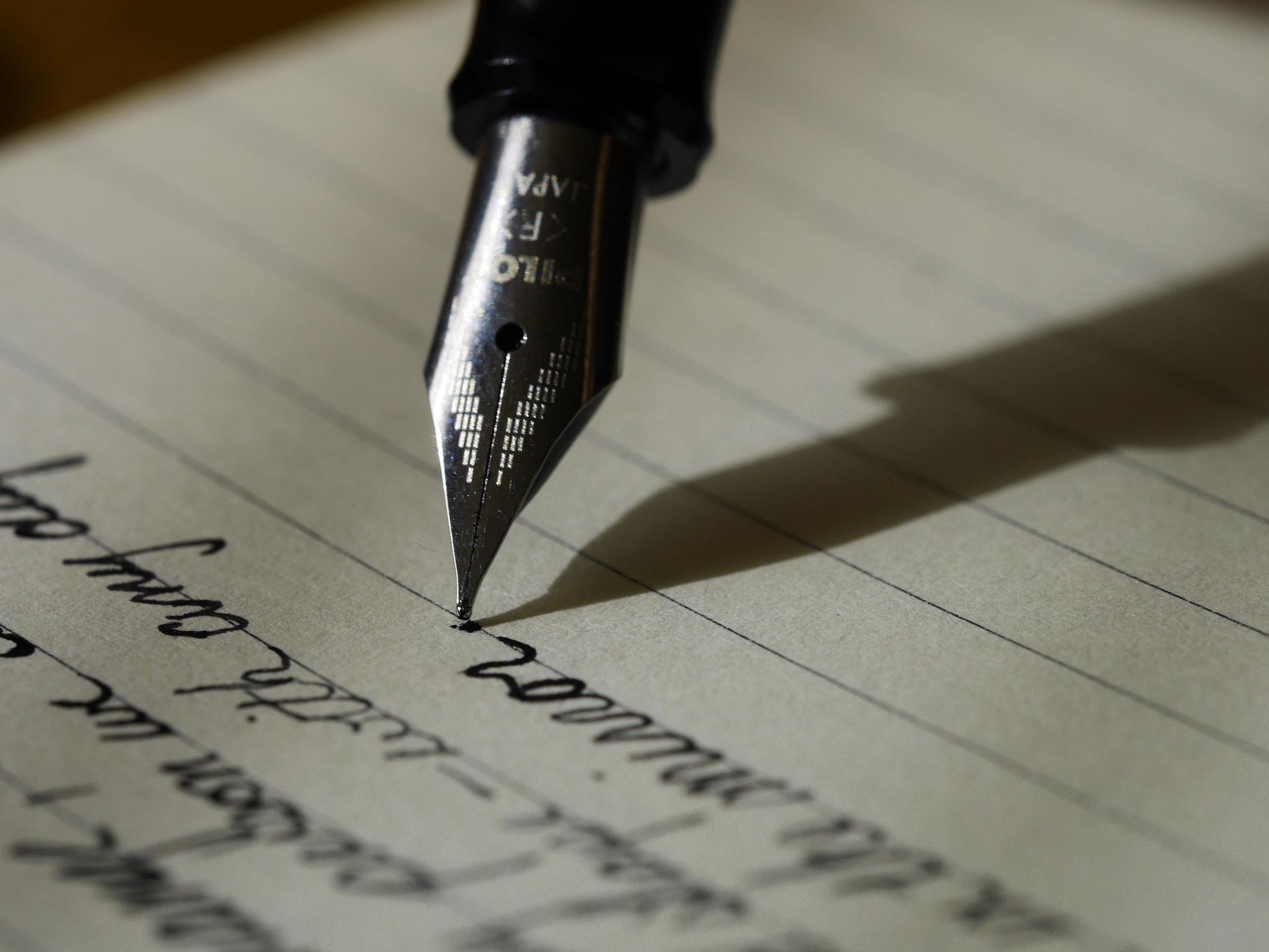 skriva dagbok