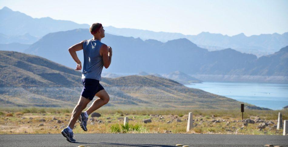 Löpning och andning och lungor