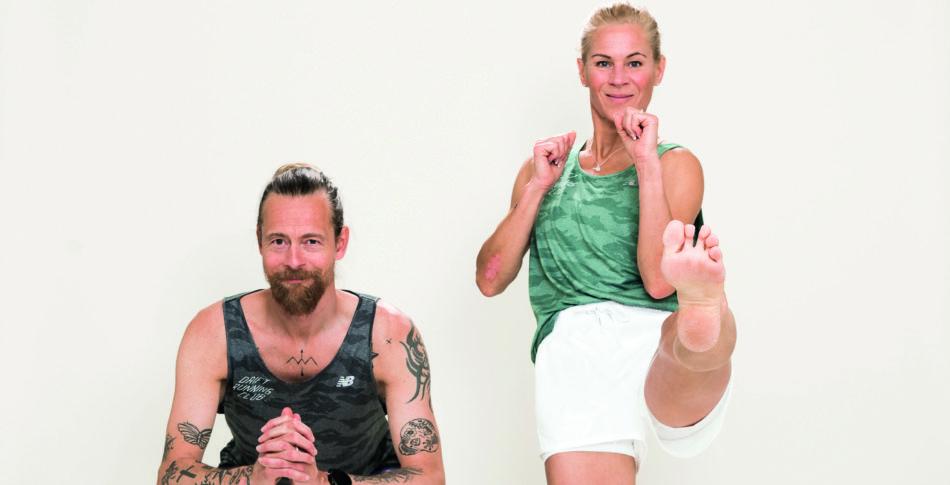 #RW2929Challenge               Sex grymma övningar för starkare ben