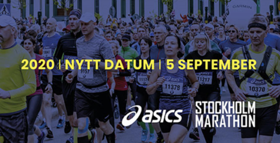 ASICS Stockholm Marathon flyttas
