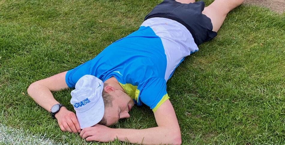 Elov Olsson nära svenskt 24-timmarsrekord