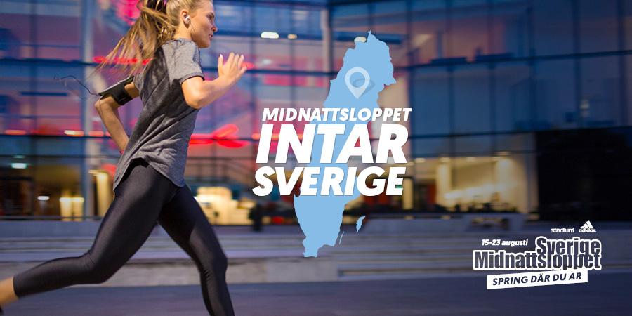Midnattsloppet – nu i hela Sverige.