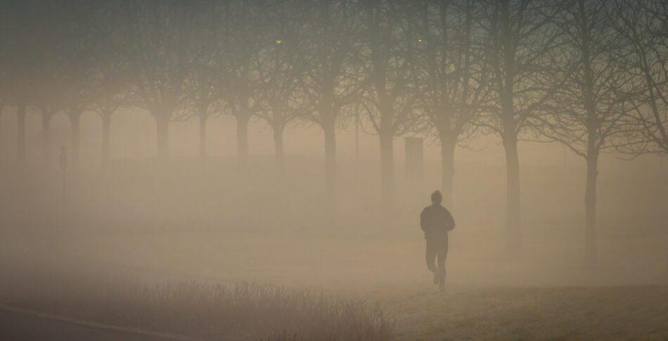 Löpning är ett kemiskt reningsbad