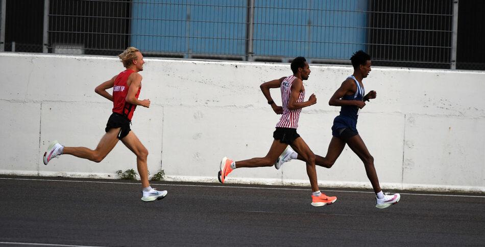 Meraf och Samuel dominerade på SM 10 km