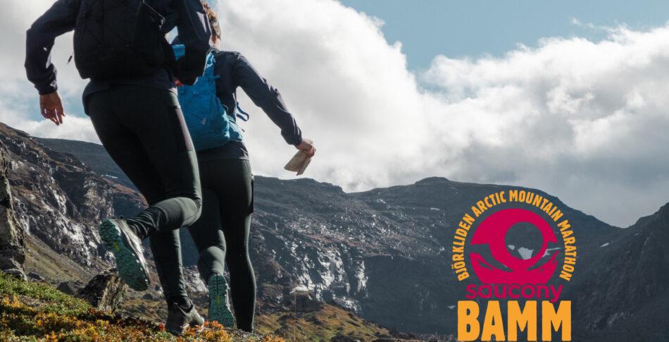 Saucony blir titelsponsor för BAMM 2021 – Björkliden Arctic Mountain Marathon!