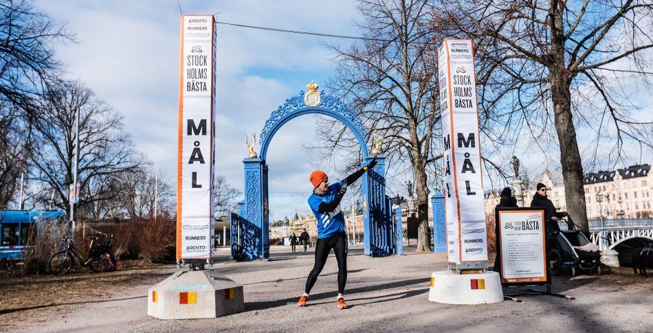 Snabba löpare i täten på Stockholms Bästa