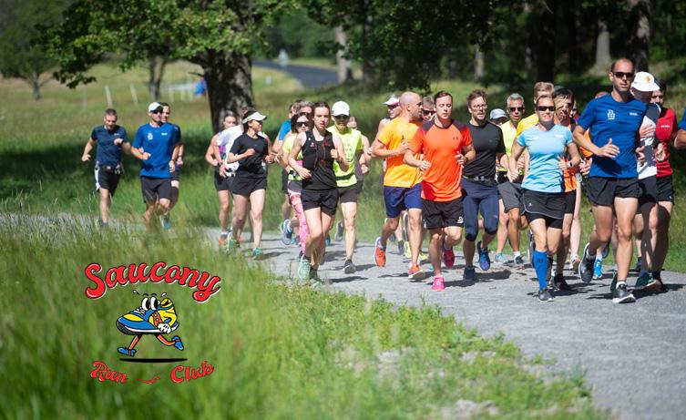Saucony Run Club – löpning för alla