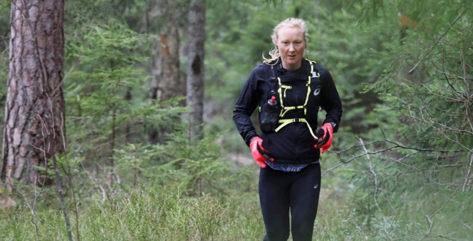 Fantastiskt rekord av Anna Carlsson på Bergslagsleden