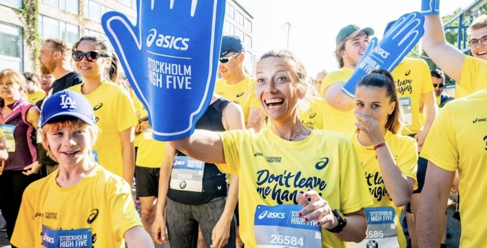 ASICS ❤️ Generation PEP = Stockholm High Five!