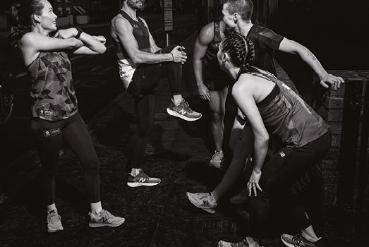 Häng med på intervaller och after run med New Balance